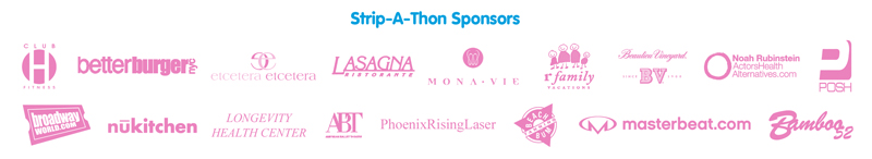 Strip-A-Thon Sponsors